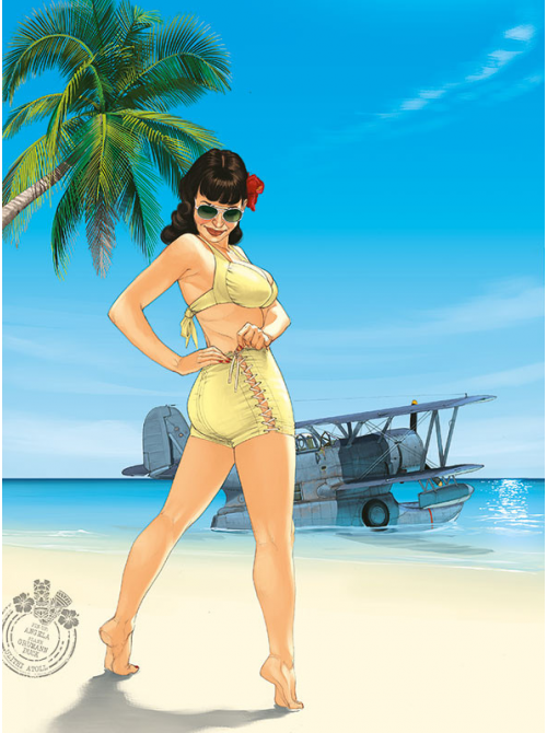PIN-UP WINGS T5 - GRAND FORMAT AVEC BONUS