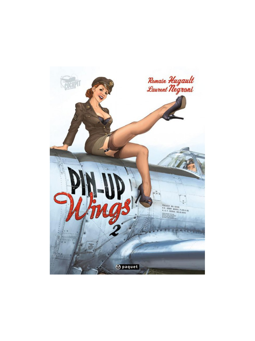PIN UP WINGS T2 LUXE EDITION METALLIQUE LIMITÉE